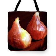 Midnight Figs Tote Bag by Ben and Raisa Gertsberg