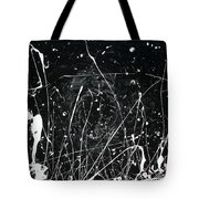 Midnight Weeds Tote Bag by Ric Bascobert