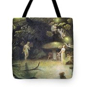 Midsummer's Night Dream Tote Bag by Francis Danby