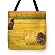 Midwest Farming Tote Bag by Frozen in Time Fine Art Photography