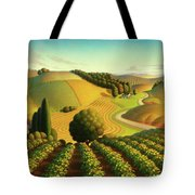 Midwest Vineyard Tote Bag by Robin Moline