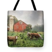 Mifflintown Farm Tote Bag by Lori Deiter