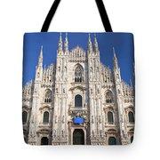Milan Cathedral  Tote Bag by Antonio Scarpi