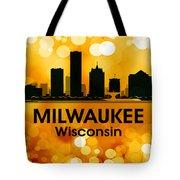 Milwaukee Wi 3 Tote Bag by Angelina Vick