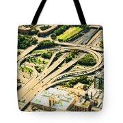 Mini Motorway Tote Bag by Andrew Paranavitana