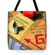 Minneford Monopoly Tote Bag by Marguerite Chadwick-Juner