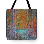Minnesota Sunset Tote Bag by Jacqueline Athmann