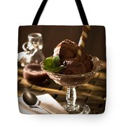 Mint Choc Chip Ice Cream Tote Bag by Amanda And Christopher Elwell