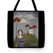 Mirabelle's Cat Tote Bag by Catherine Holman