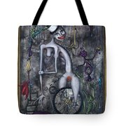Miss Millies Greatest Show On Earth Tote Bag by Kelly Jade King