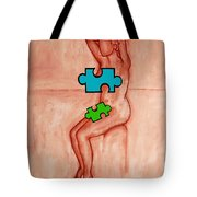 Missing Piece 6 Tote Bag by Patrick J Murphy