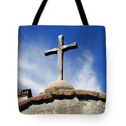 Mission Cross Tote Bag by Shoal Hollingsworth