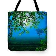 Misty Night Tote Bag by Bedros Awak