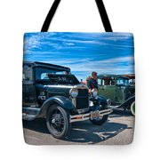 Model T Fords Tote Bag by Steve Harrington