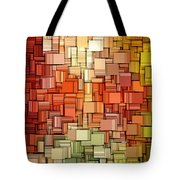 Modern Abstract Viii Tote Bag by Lourry Legarde