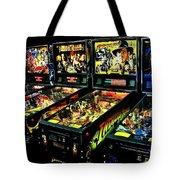 Modern Machines Tote Bag by Benjamin Yeager