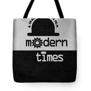 Modern Times Tote Bag by Ayse Deniz