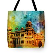 Mohatta Palace Tote Bag by Catf