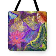 Moment of Oneness Tote Bag by Jane Small