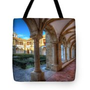 Monastery Of Nossa Senhora Da Assuncao Tote Bag by English Landscapes