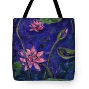Monet's Lily Pond I Tote Bag by Xueling Zou