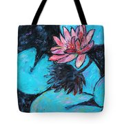 Monet's Lily Pond III Tote Bag by Xueling Zou