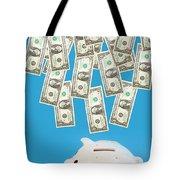 Money Saving Tote Bag by Michal Bednarek