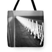 Monochrome Sun Deck Tote Bag by Anne Gilbert