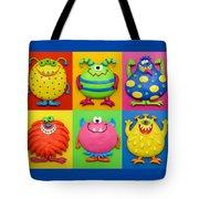 Monsters Tote Bag by Amy Vangsgard