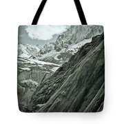 Mont Blanc Glacier Tote Bag by Frank Tschakert