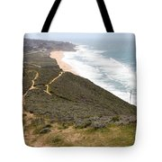 Montara State Beach Pacific Coast Highway California 5d22632 Tote Bag by Wingsdomain Art and Photography