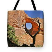 Monument Valley - Ear Of The Wind Tote Bag by Christine Till