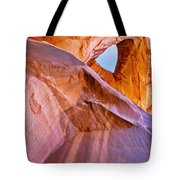 Monument Valley - Eye of the Sun Tote Bag by Christine Till
