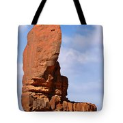 Monument Valley - The Thumb Tote Bag by Christine Till