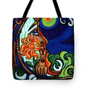 Moon In Tree Tote Bag by Genevieve Esson