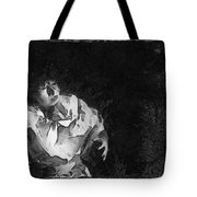 Moon Shadow Tote Bag by George Rossidis