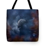 Moon Shine Tote Bag by Andrea Kollo