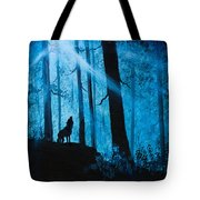 Moonlight Serenade Tote Bag by C Steele