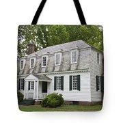 Moore House Yorktown Tote Bag by Teresa Mucha