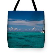 Moorea Lagoon No 16 Tote Bag by David Smith
