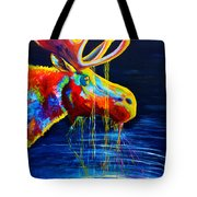 Moose Drool Tote Bag by Teshia Art