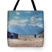 Morman Row Tote Bag by Kathleen Struckle