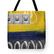 Morning Buddha Tote Bag by Linda Woods
