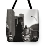 Morning Coffee At Starbucks In Nashville Tote Bag by Dan Sproul