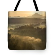 Morning Has Broken Tote Bag by Lori Grimmett