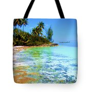 Morning In Andros Tote Bag by Victor Minca