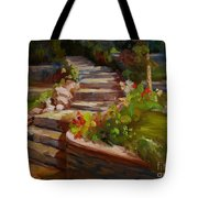 Morning Light Tote Bag by Lisa Phillips Owens