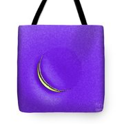Morning Moon Purple Tote Bag by Al Powell Photography USA