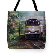 Morning Outbound Tote Bag by Jack Skinner