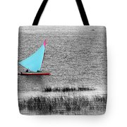 Morning Sail Tote Bag by James Brunker